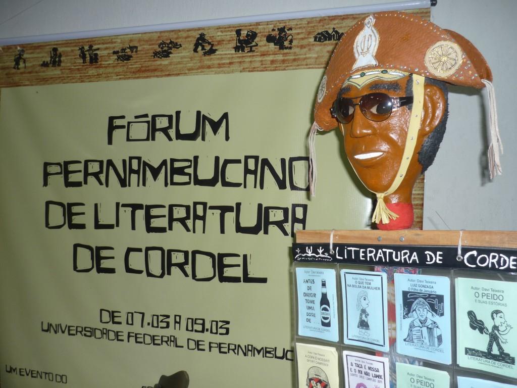 Expositor de Cordel Luiz Gonzaga