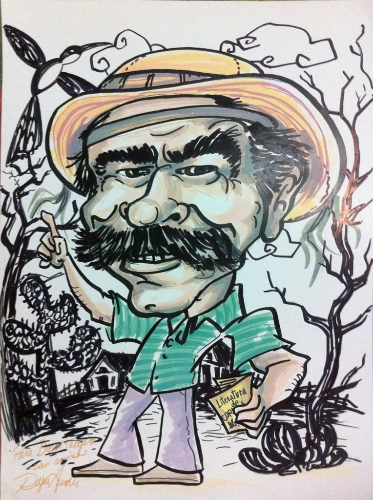 Caricatura de Davi Teixeira